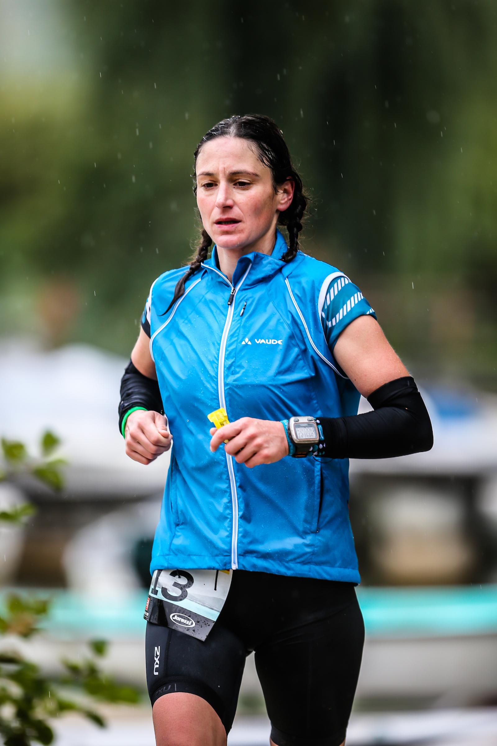 GRÜBER Almuth, vainqueur femme de l'AlpsMan @TRIMAX