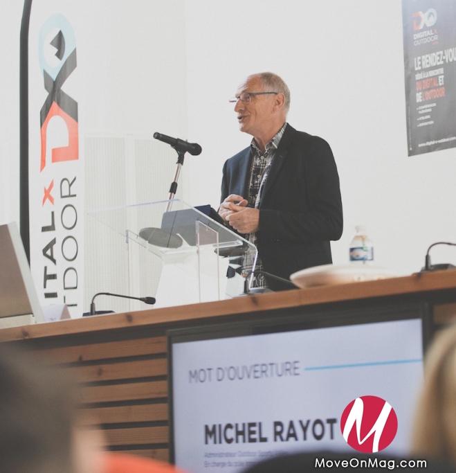 Michel Rayot - Digital x Outdoor Annecy 2016 © Gilles Reboisson
