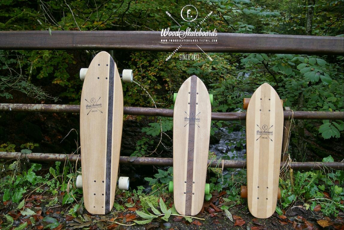 Fabien Porret de Woodskateboards, glisse sur la tendance des Skates fabrication artisanale et locale