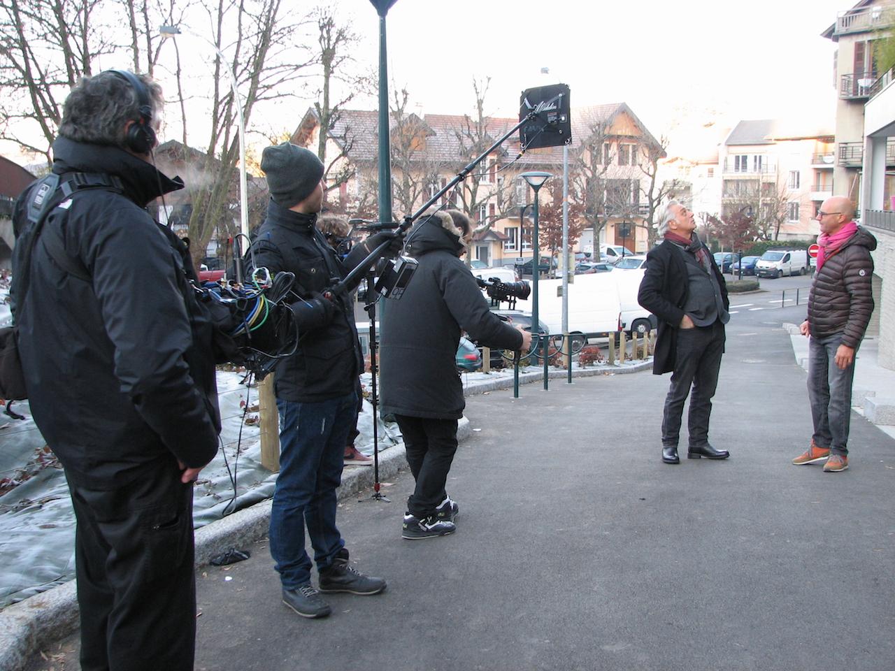 """Tournage de l'émission """"Maison France 5"""" à Annecy @ Paul Rassat"""