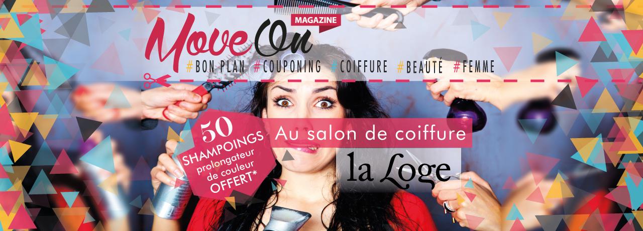 """COUPONING : 1 Shampoing prolongateur de couleur offert au salon """"La Loge"""""""