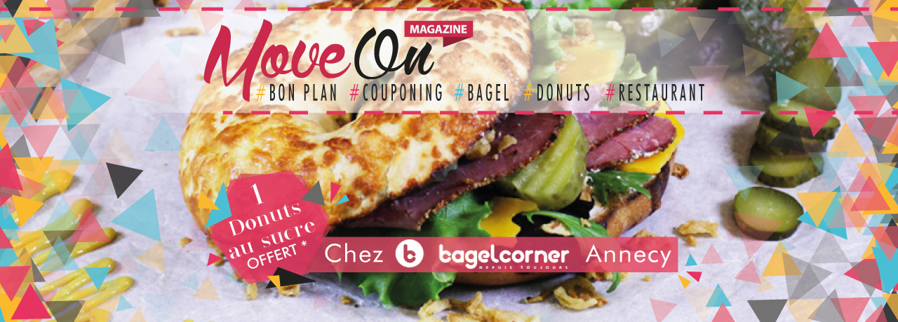 COUPONING : 1 Donuts au sucre offert chez Bagel Corner Annecy !