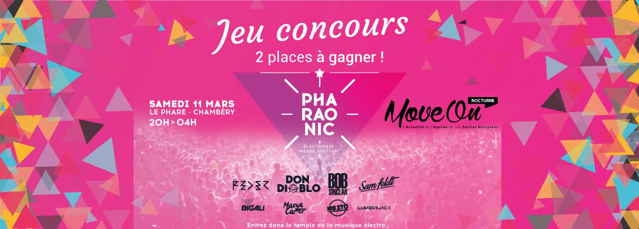 JEU CONCOURS FACEBOOK : 2 Entrées à gagner pour le PHARAONIC FESTIVAL