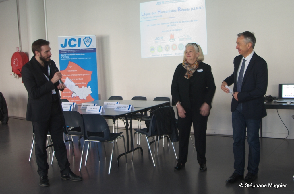 La Jeune Chambre Economique d'Annecy en pleine dynamique
