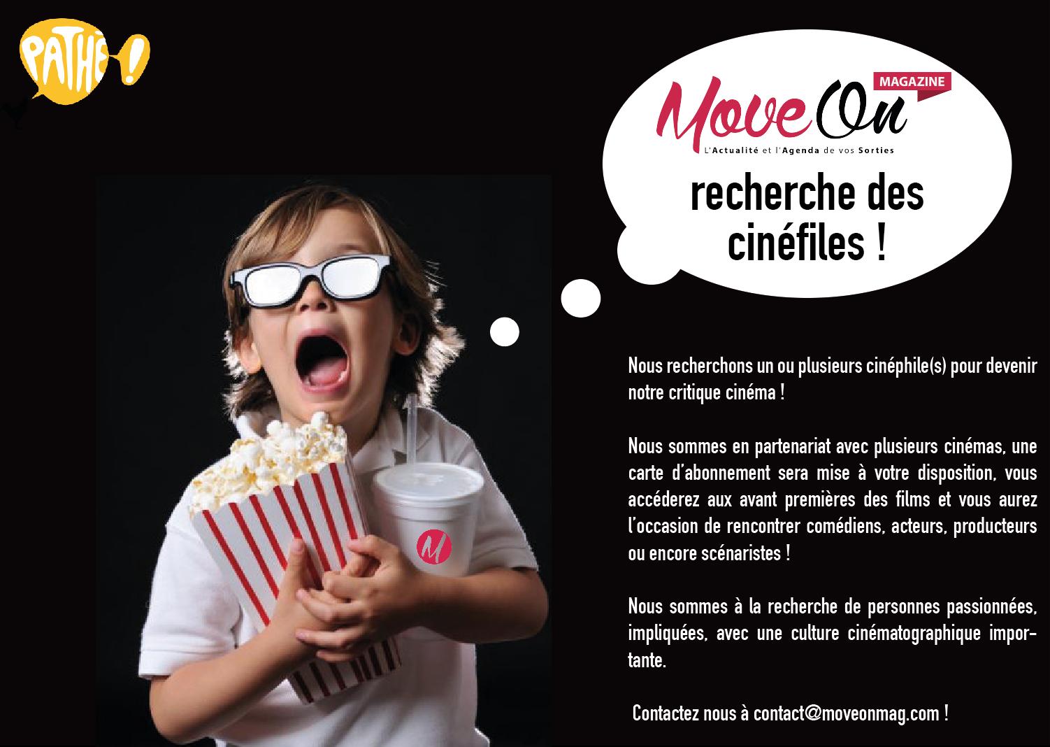 Move-On Mag recherche des cinéphiles !