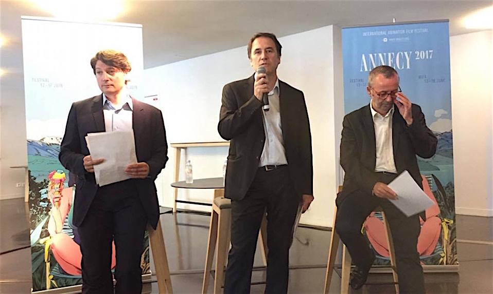 Michaël Marin, Dominique Puthod, Patrick Eveno ©MoveOnMag