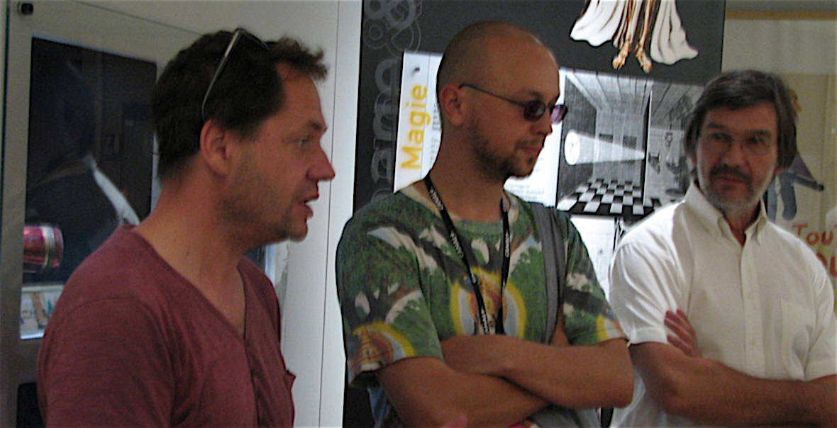 Ron Dyens, Bastien Dubois et Maurice Corbet ©Paul Rassat