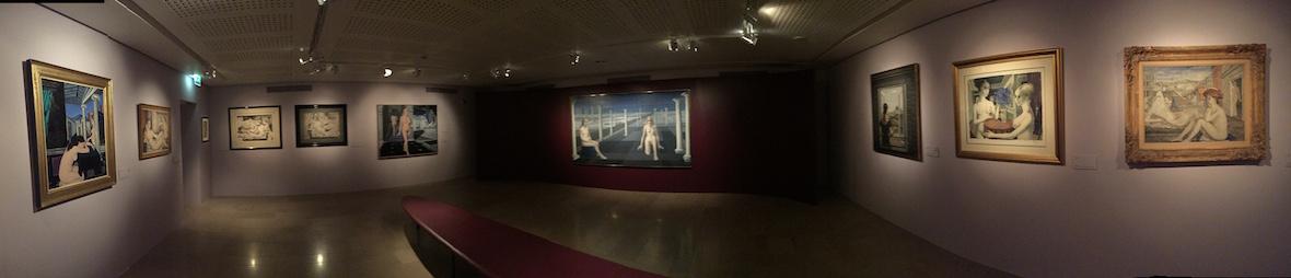 Exposition Paul Delvaux Palais Lumière Evian© Damien Tiberio