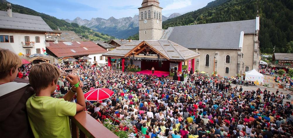 Vue festival ABDM - © G. Piel - Le Grand-Bornand