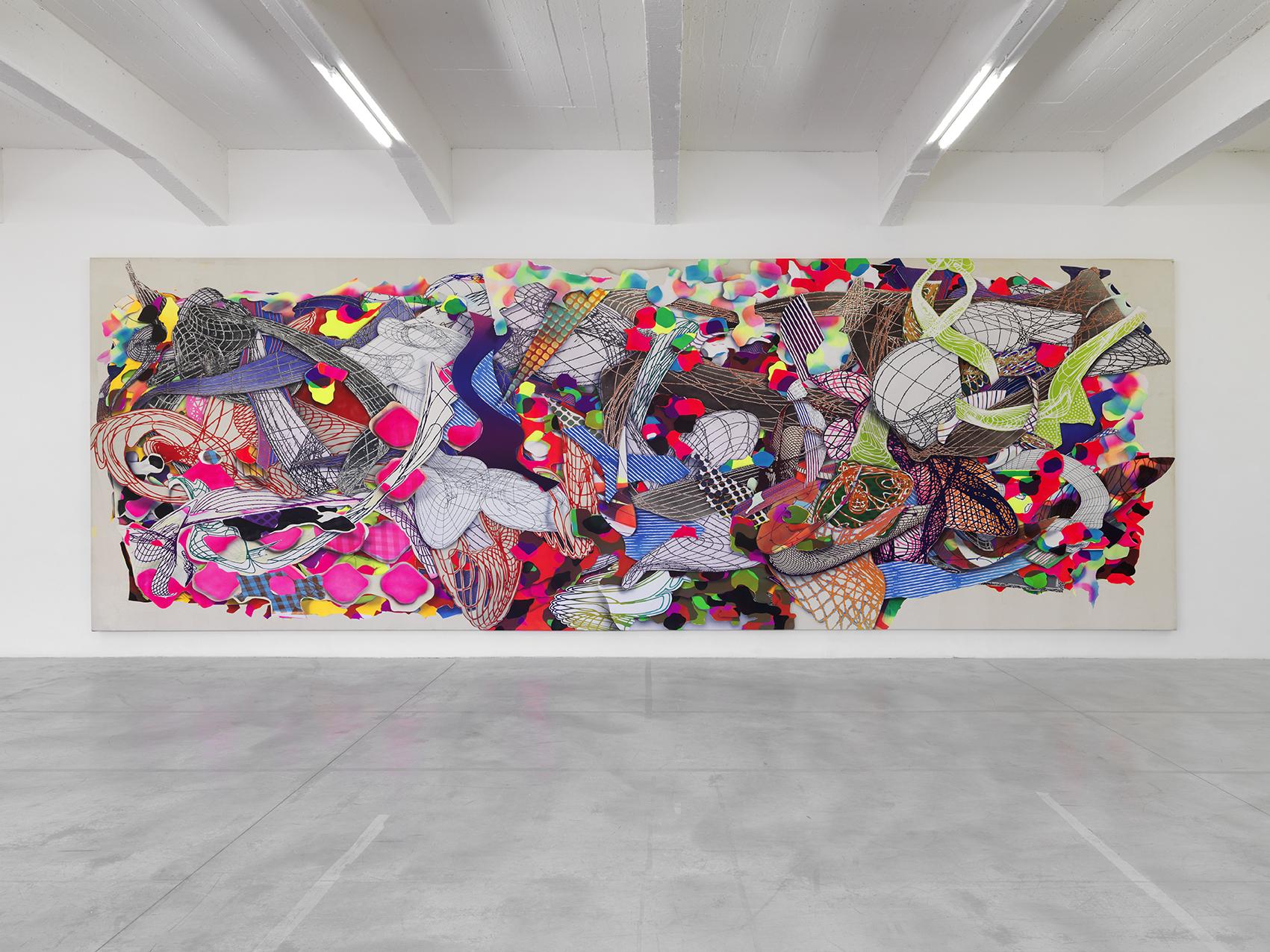 Franck Stella. Polombe 1994. Centre Pompidou (Photo André Morin)