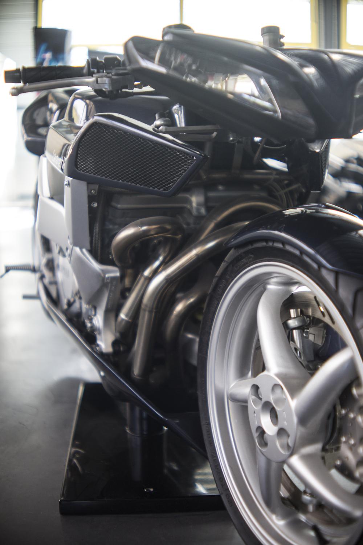 Moto Ludovic Lazareth (Photo Christophe Rassat)