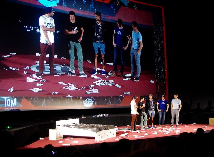 Présentation du film This is Real avec Mathis, Mathéo et leur team