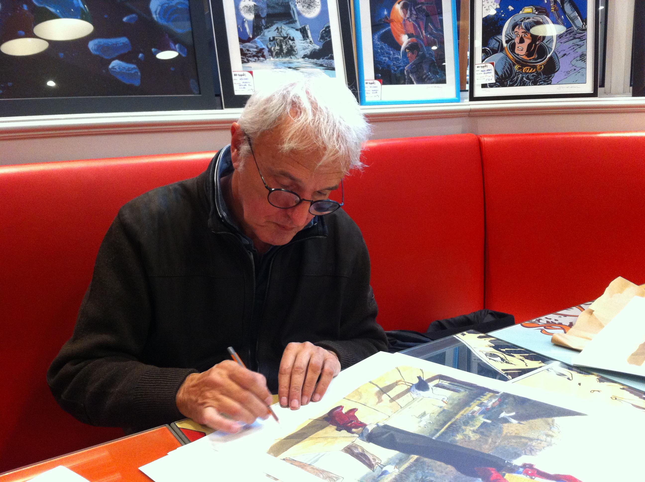 Jean-Pierre Gibrat chez BD Fugue//Annecy