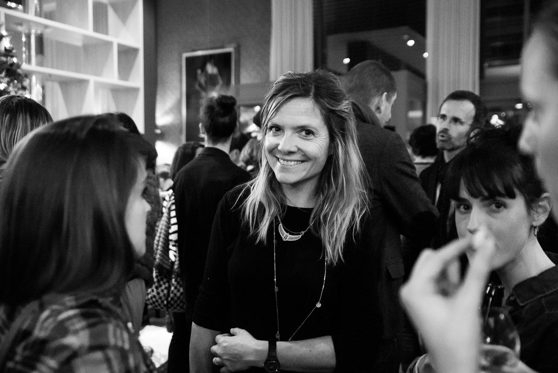 Julie Arbeit pour la soirée B to B du Rock on Snowboard Tour le 20 Novembre 2017