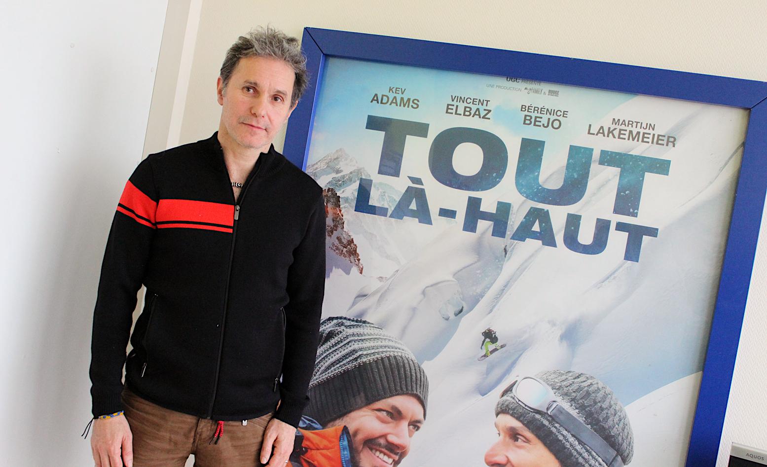 Réalisateur Serge Hazanavicius - Film Tout là-haut ©Julien Vollet