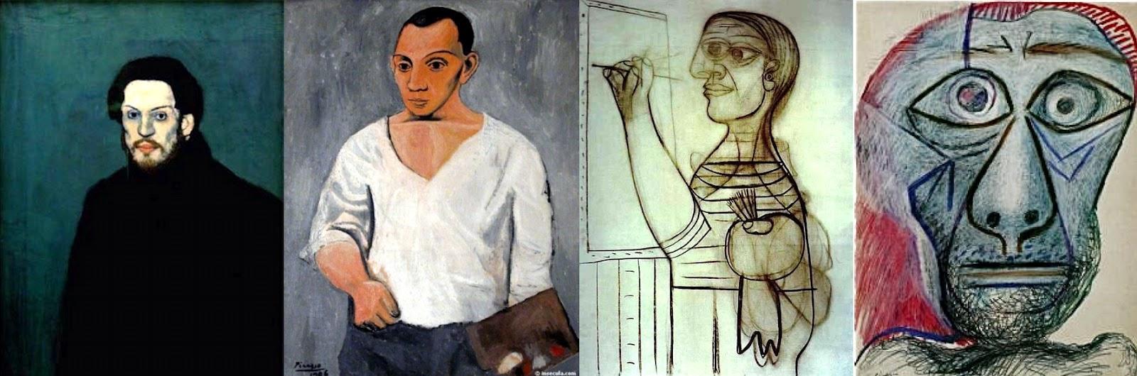 Picasso. Autoportrait