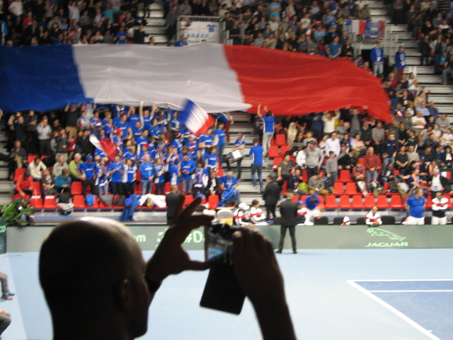 Coupe Davis Albertville 1er Jour France / Pays-Bas