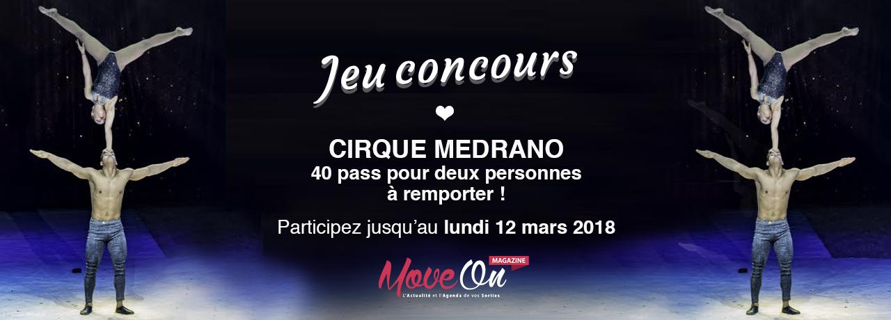 JEU CONCOURS : 40 places à gagner pour le spectacle du Cirque Medrano !