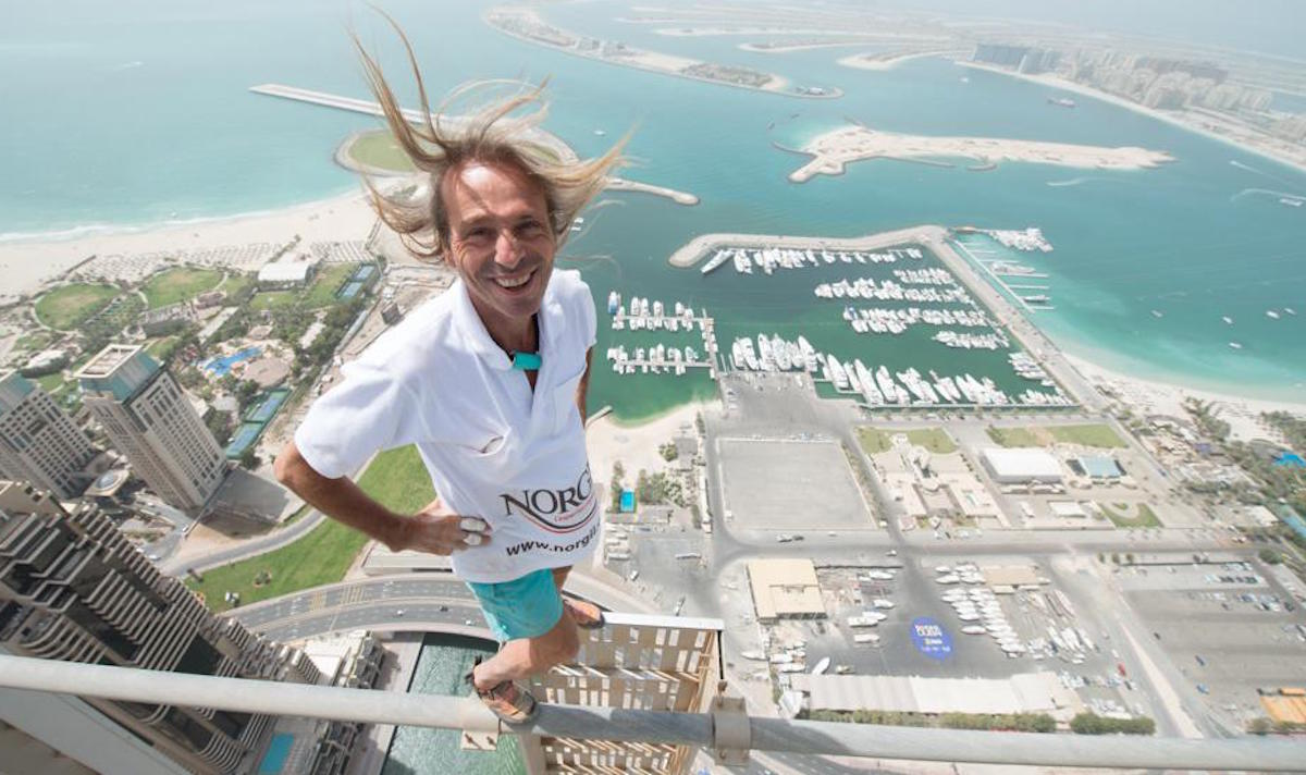 Alain Robert - Dubai