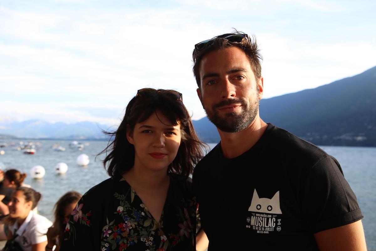 Mark et Théa du groupe Cocoon - Musilac 2017