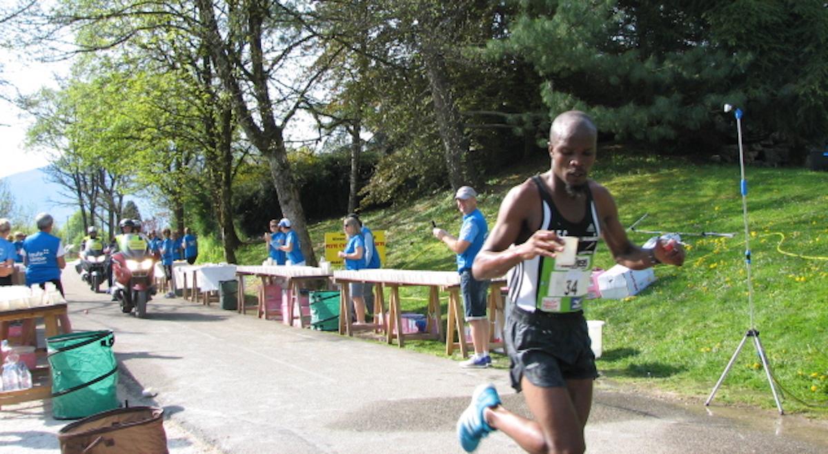 Le futur vainqueur - Marathon d'annecy 2018