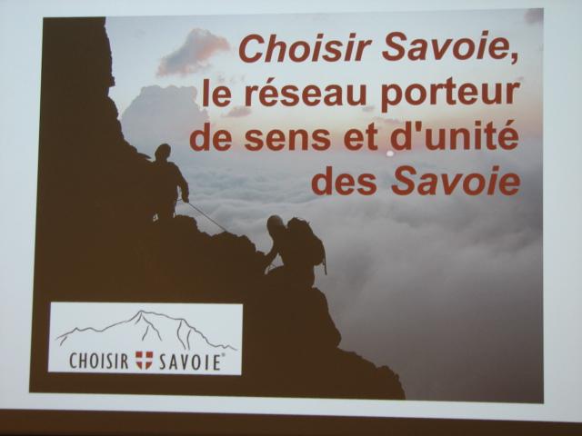 Une AG pour une jeune association, Choisir Savoie
