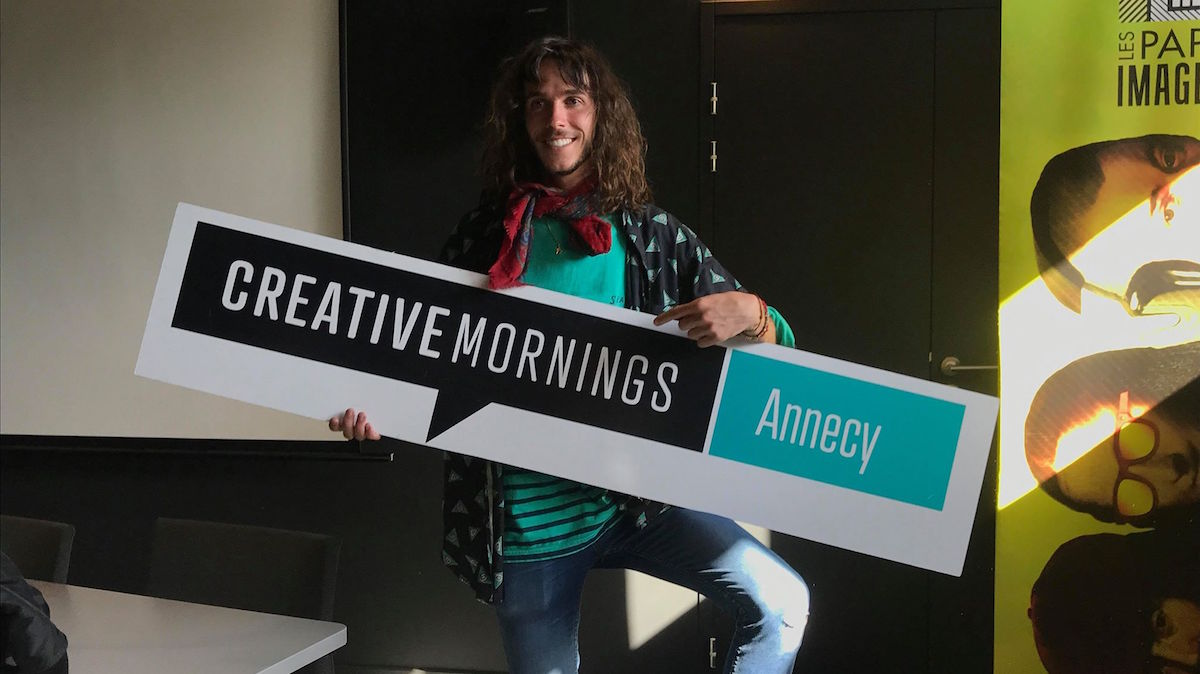 Téo Jaffre - CreativeMornings Annecy