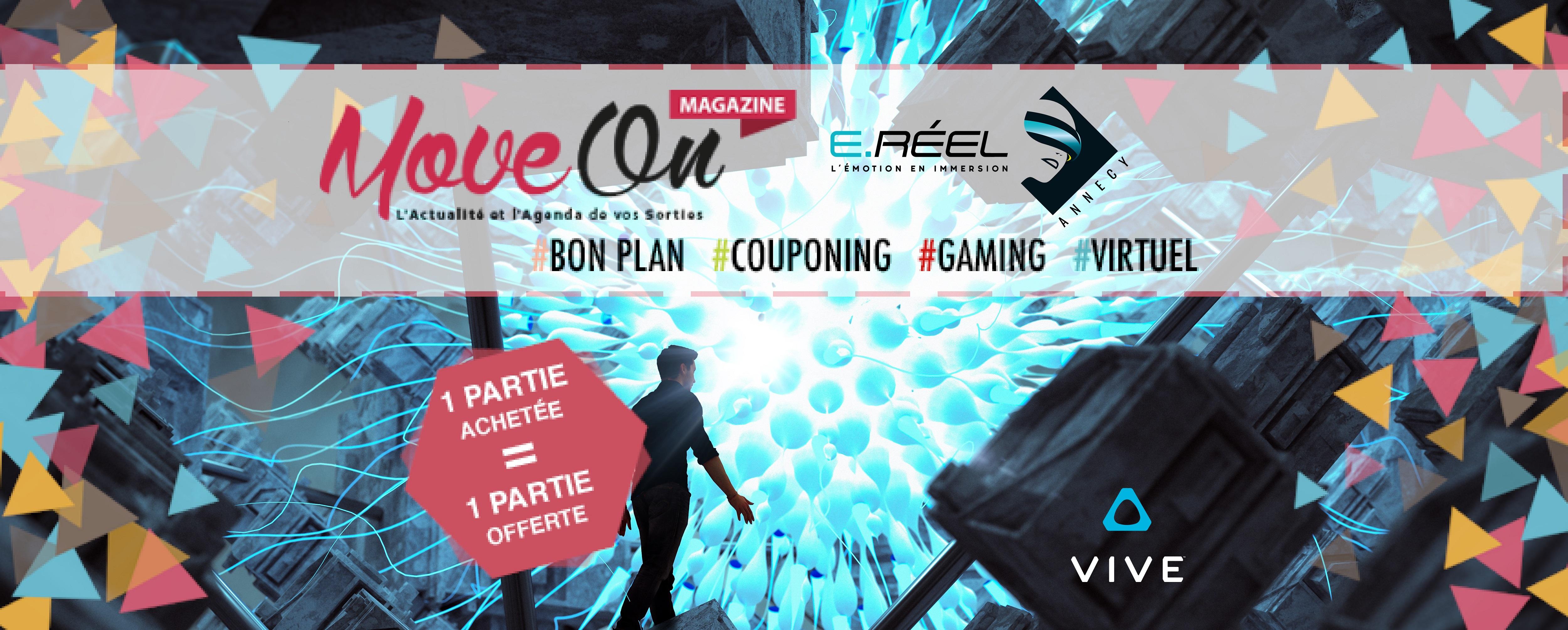 COUPONING : 1 joueur acheté = 1 joueur offert chez E.Réel Annecy ©HTC