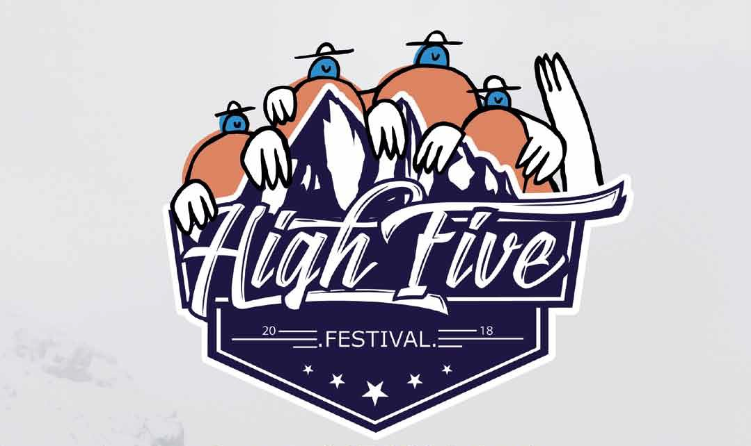 Le High Five Festival 2018 ? Des flocons plein la tête !