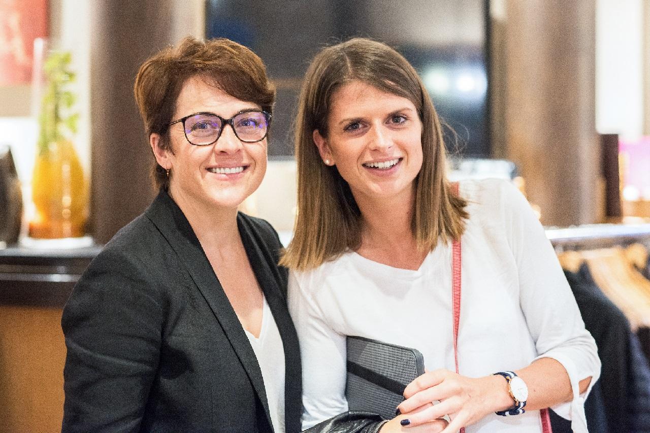Soirée des anciens de l'IPAC, le 5 juin 2018 aux Tresoms - Annabel André Laurent et Clémentine Koh Lanta