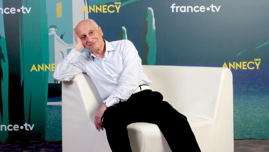 Michel Ocelot ©Festival Annecy