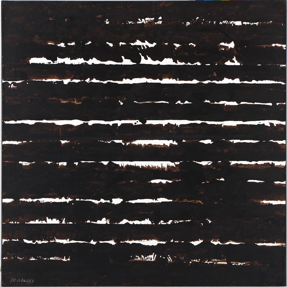 Brou de noix sur papier ©Christian BOUSQUET
