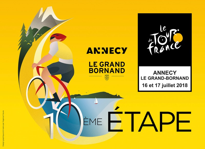 Le Tour de France à Annecy et au Grand-Bornand