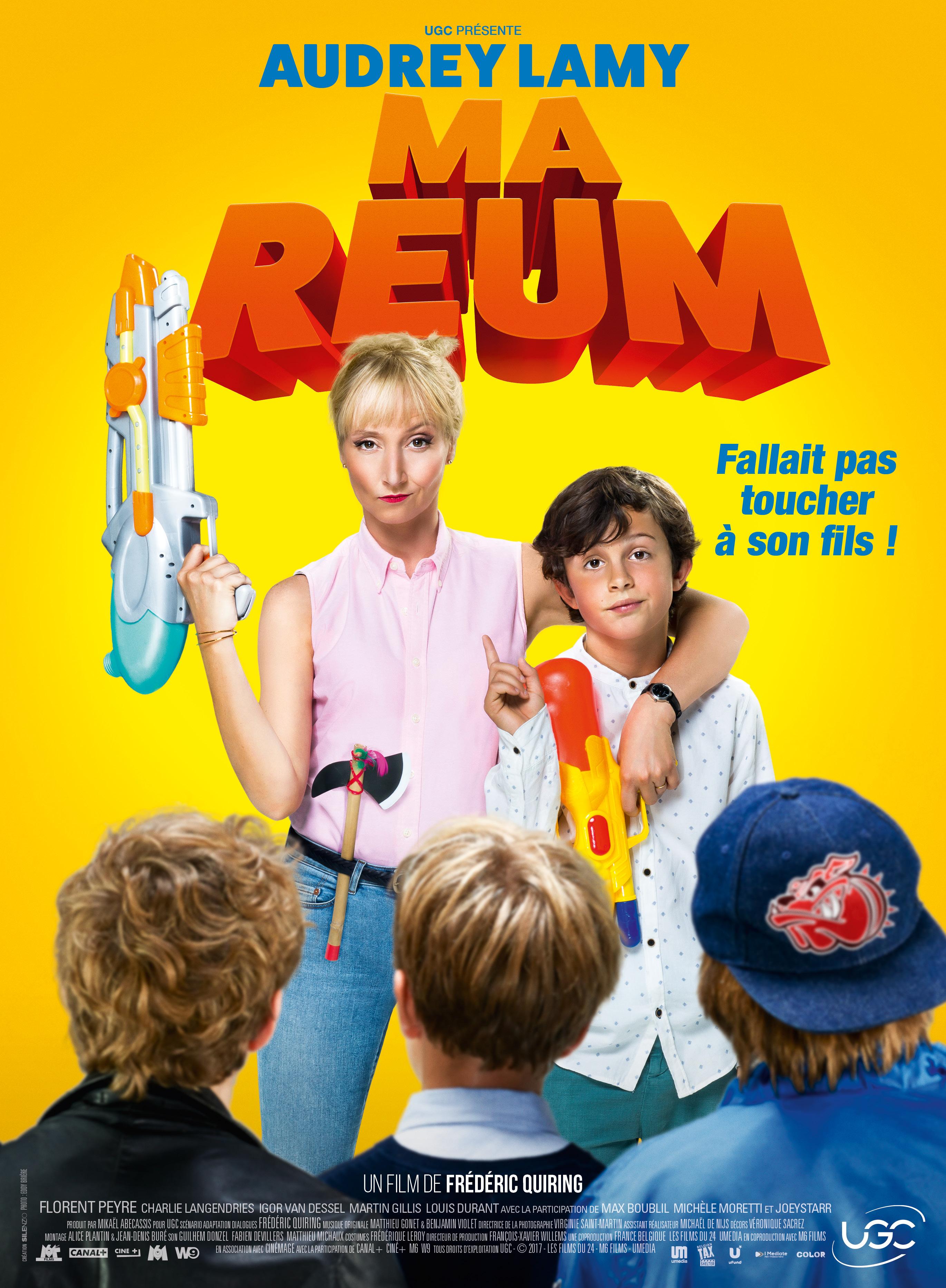 Affiche du film « Ma reum » de Frédéric Quiring avec Audrey Lamy