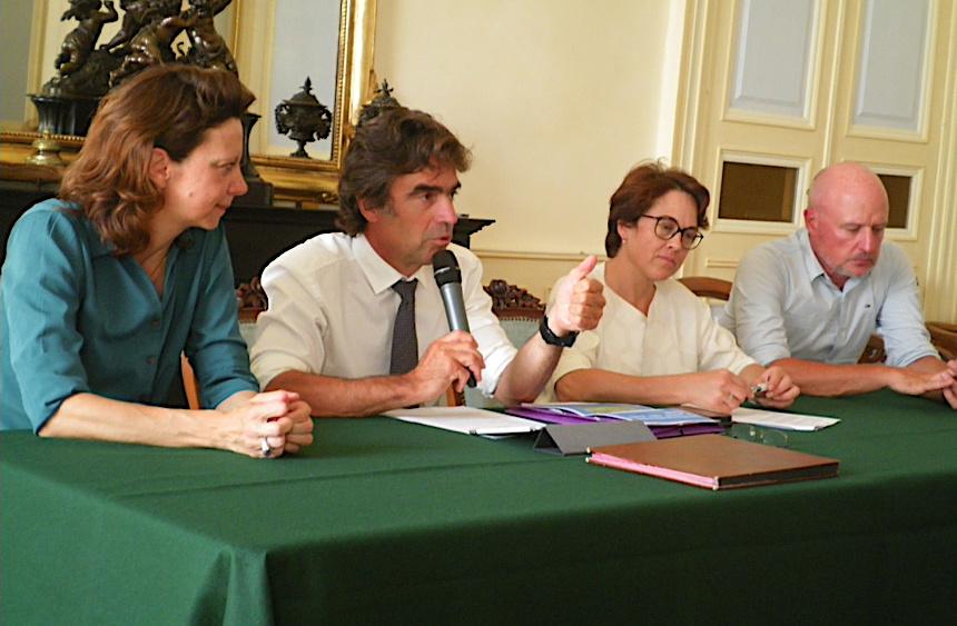 Catherine Pacoret - Eric Fournier - Annabel Laurent-Buffet et François Carbonnel ©Paul Rassat