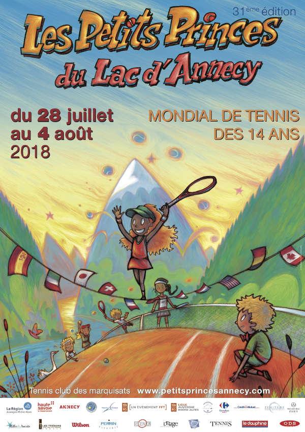 Affiche Tournoi des Petites Princes 2018