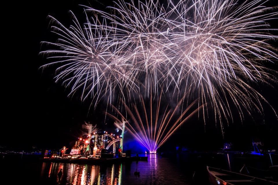 Dernier volet des Pyroconcerts de Talloires 2018 ce jeudi 23 août ©Pyroconcert