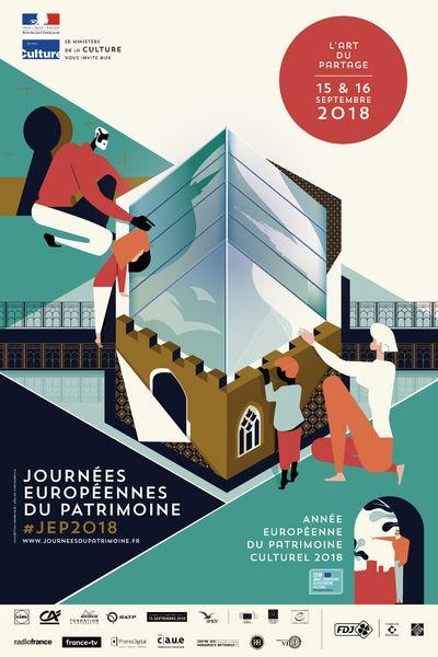 Journées Européennes du Patrimoine 15/16 septembre 2018