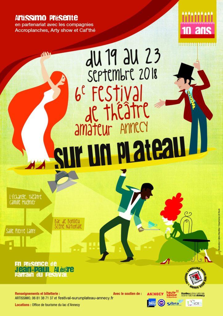 6° Festival de théâtre amateur d'Annecy 19/23 septembre 2018