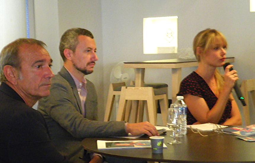 Salvador Garcia, Francesco Giai Via, Sarah Quintic / 36° édition du Festival Annecy Cinéma Italien ©MoveOnMag