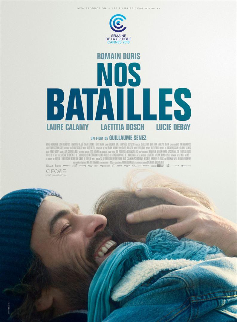 """Affiche du film """"Nos batailles"""" de Guillaume Senez"""