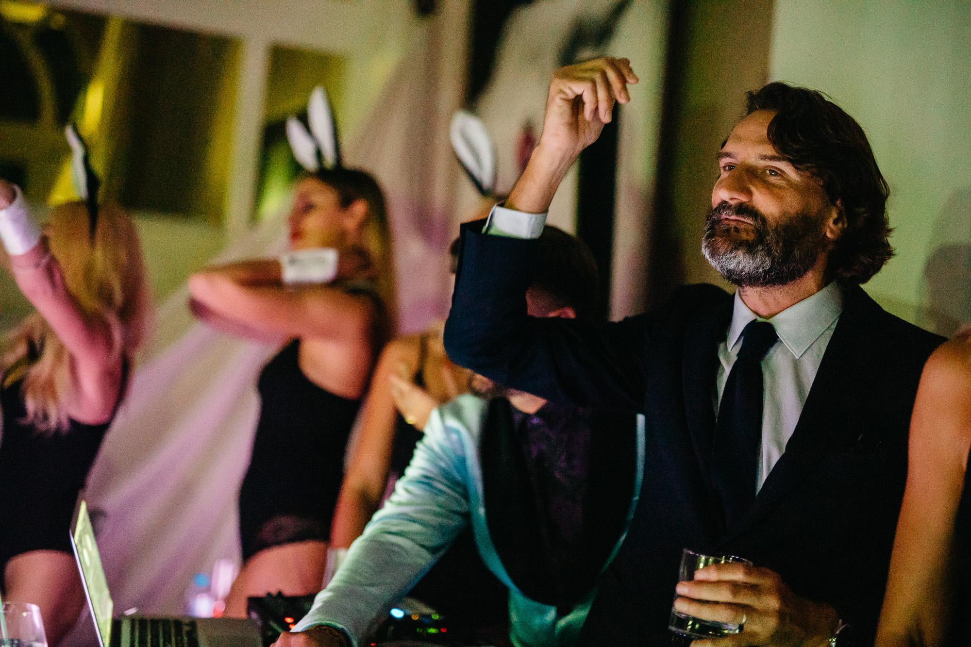 Frédéric Beigbeder, rider de la sémantique - Playboy Private Party High Five Festival Impérail Palace Annecy @HFF