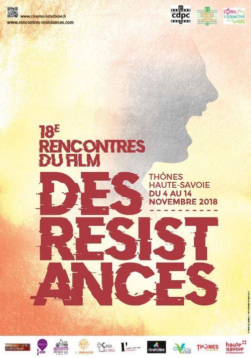 Festival des Résistances 2018, présenté par Arnaud Pillods