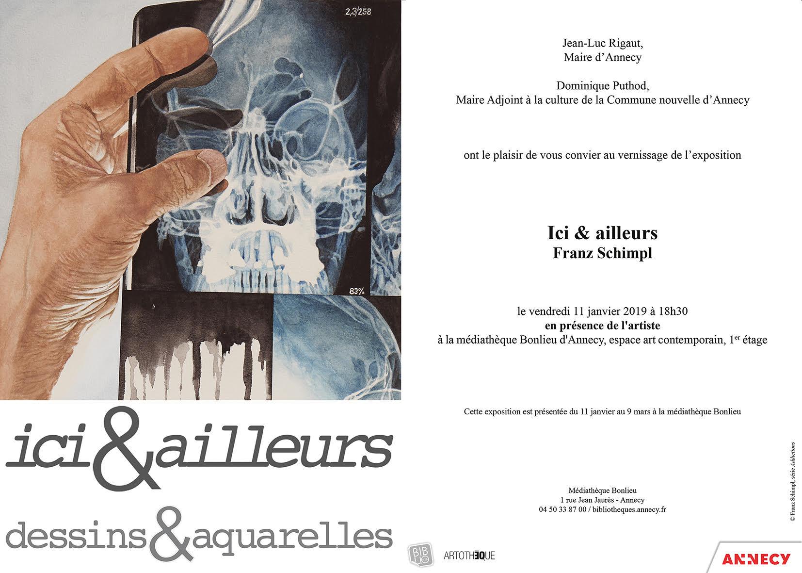 Ici & Ailleurs. Exposition de Franz Schimpl