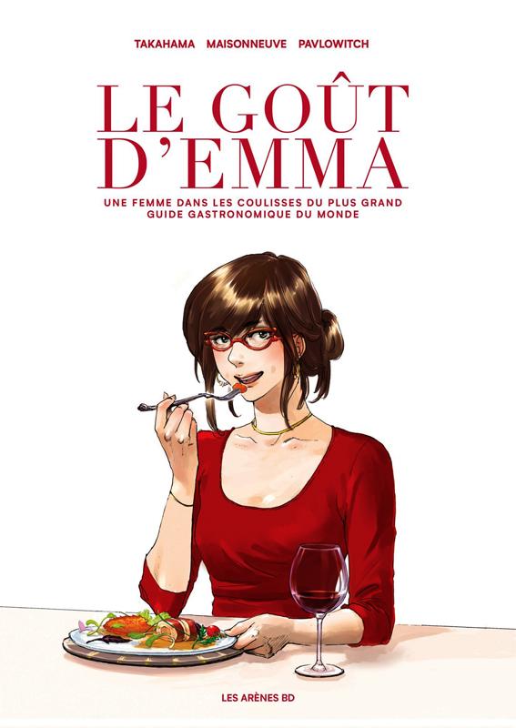 Le goût d'Emma, Un livre rafraîchissant, dont la dégustation dégage des arômes de passion