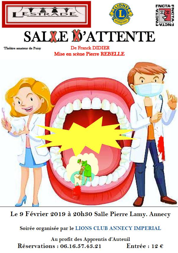 Soirée Lions Club Annecy Impérial le 9 février 2019