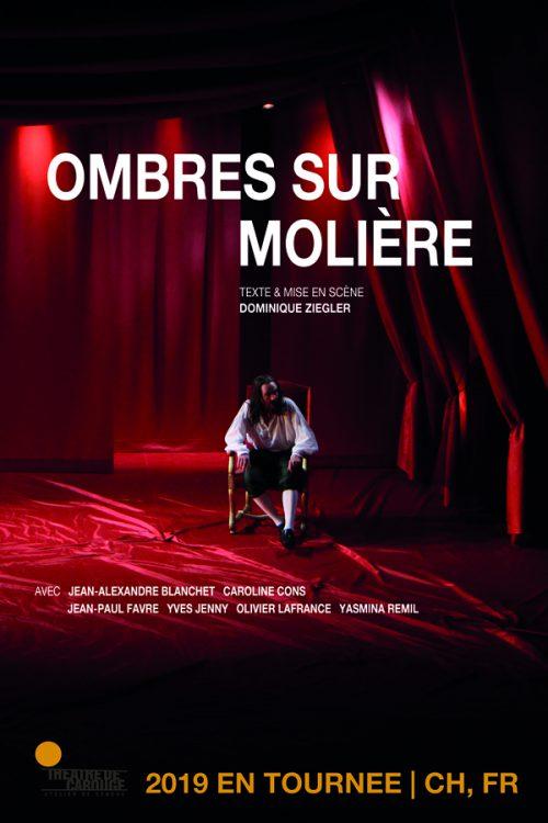 « Ombres sur Molière » de Dominique Ziegler