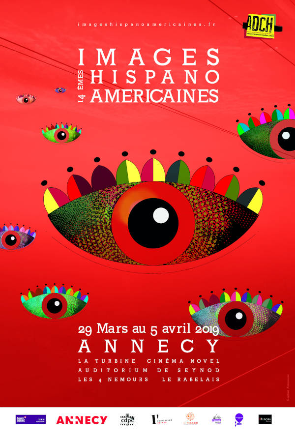 Affiche 14° Images Hispano Américaines 29 mars/5 avril 2019 Annecy