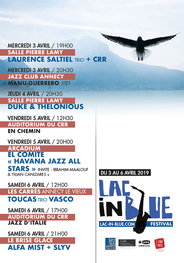 Lac In Blue Annecy Du 3 au 6 avril 2019