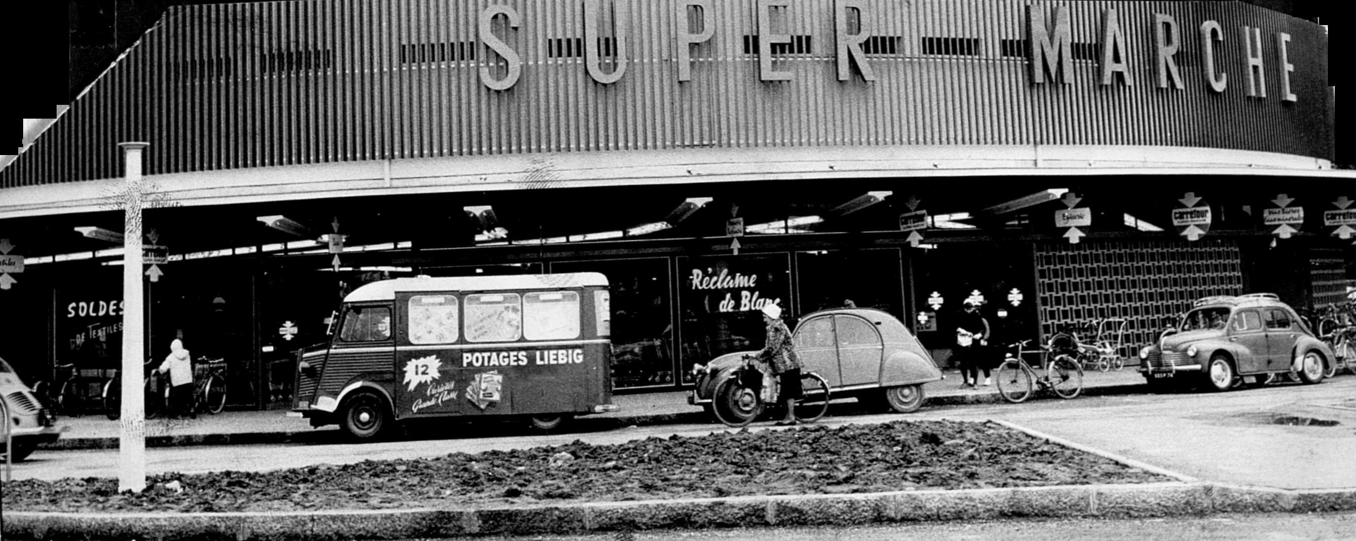 Supermarché Carrefour Parmelan